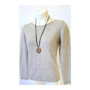 ♦️📁 Cashmere Wool Blend Bendetta B. Sweater Large